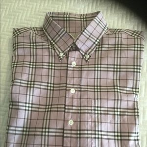Burberry Nova Check long sleeve shirt size XL.